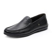 红蜻蜓男单鞋 秋季新款正品男士商务休闲皮鞋男鞋子4011