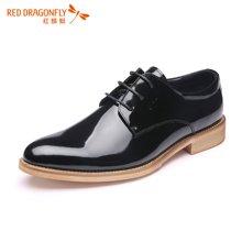 红蜻蜓男鞋 时尚商务正装皮鞋男单鞋 6124