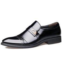俊斯特 新款男士商务正装尖头皮鞋男时尚单鞋男鞋