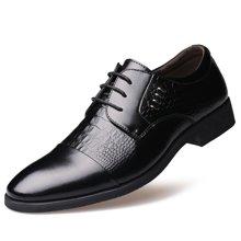 俊斯特 2016新款男士正装系带商务皮鞋男尖头皮鞋男鞋单鞋