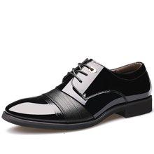 俊斯特2016秋季新款男士商务正装皮鞋系带男鞋单鞋婚鞋子