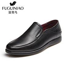富贵鸟(FUGUINIAO)时尚商务休闲鞋套脚鞋软底轻盈舒适男鞋 S791301