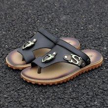 植木直男士软底沙滩鞋夹趾防滑透气休闲凉拖鞋韩版潮Z1603026