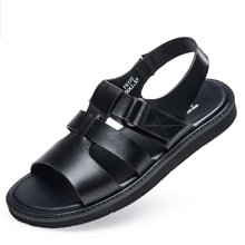 Zero零度男凉鞋夏季新品休闲男鞋露趾凉鞋男士沙滩鞋子F6172