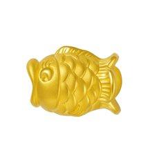 金世通3D硬金 鱼黄金转运珠免工费 2R10001 约1.97克