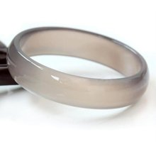 衡润 茶色玛瑙手镯 内径约56-58mm