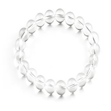 Lux-women-白水晶手链(附鉴定证书)