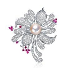 金兴福  精致豪华款11-11.5mm名媛系列珍珠胸针