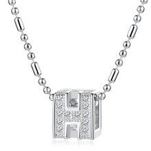 Lux-women-925银镶嵌吊坠-Happy(赠项链)