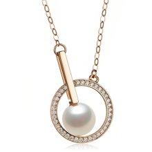 Lux-women-925银镶嵌锆石吊坠-秘密花园