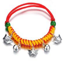 Lux-women-925银手链-财源滚滚