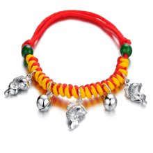Lux-women-925银手链-富贵吉祥