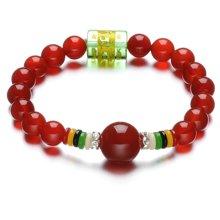 Lux-women-红玛瑙手链-鸿运当头(附鉴定证书)