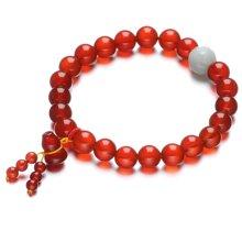 Lux-women-红玛瑙手链-纳福(附鉴定证书)
