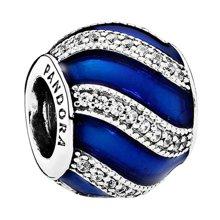 PANDORA 潘多拉 瓷釉蓝色配饰蓝色串珠791991EN118(1)