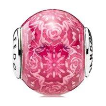 PANDORA 潘多拉 橡胶ESSENCE系列-自由樱桃红色串珠796083EN117(1)