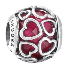 PANDORA 潘多拉 樱桃红缠绕的爱925银串饰792036NCC(1)
