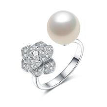 Lux-women-925银镶嵌贝珠戒指-心语星愿(戒指)
