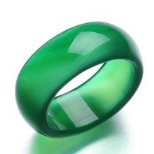 Lux-women-玛瑙戒指-绿色