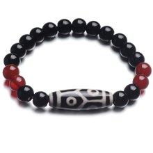 Lux-women 玛瑙天珠手链-六眼