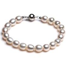 Lux-women天然珍珠手链-华贵(7-8mm)
