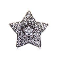 PANDORA潘多拉 许愿星星锆石串珠791384CZ