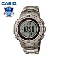 正品卡西欧casio太阳能多功能腕表登山系列男表PRW-3100T-7PR