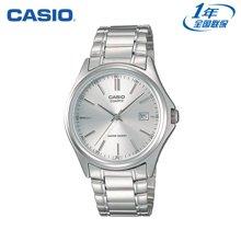 正品卡西欧CASIO手表 男士简约防水男表钢带石英表MTP-1183A-1A