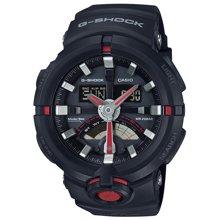 卡西欧CASIO G-SHOCK时尚潮流运动双显手表防水男士腕表潮GA-500