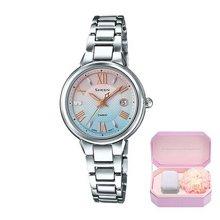 正品casio卡西欧女表时尚太阳能手表SHEEN系列腕表SHE-4516SBD