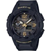 【新品】卡西欧女表时尚100米防水全自动日历防震女士手表BGA-230