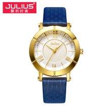 聚利时手表正品时尚女表潮流复古防水女表皮带学生石英表JA-789