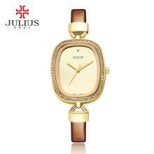 聚利时女表简约时尚个性防水皮带镶钻手表学生潮流女士手表JA-298