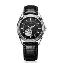 古尊(GOLGEN)手表 镂空系列机械男表黑色GN.16095M.PB