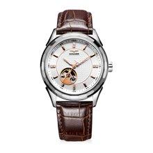 古尊(GOLGEN)手表 镂空系列机械男表白色GN.16095M.VRS