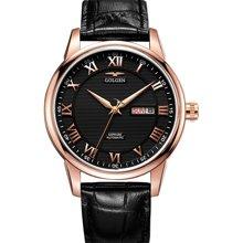 古尊(GOLGEN)手表 商务系列机械男表黑色GN.16071M.RB