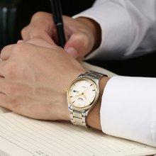 冠琴 男士商务休闲手表时尚简约日历显示全自动精钢防水机械表男GJ16033