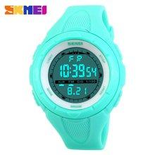时刻美潮流时尚户外运动个性创意男士大表盘手表学生防水手表(小号)1025