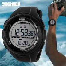 时刻美潮流时尚户外运动个性创意男士大表盘手表学生防水手表(大号)1025