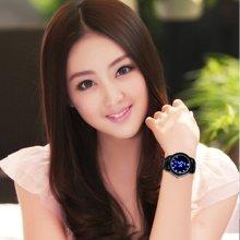 时刻美时尚LED手表防水手表男女款手表个性创意礼品手表腕表0921