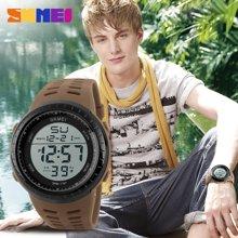 时刻美潮流男士大表盘石英手表个性电子表时尚男学生户外运动腕表1167