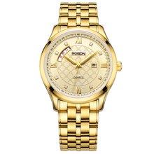 劳士顿专柜新款时尚潮流大表盘男女士情侣手表3202GL