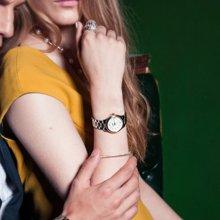 冠琴正品 全自动机械表女表 防水夜光超薄镶钻女表精钢带女腕表GQ80018-1A