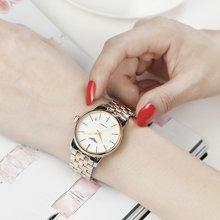 冠琴 正品女士手表精钢防水全自动机械手表钢带简约休闲女腕表潮GJ16043