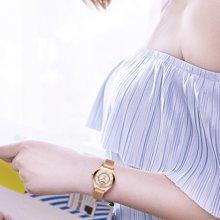 冠琴 女士超薄防水时尚石英表米兰尼斯表带韩版简约休闲女腕表潮GS19042