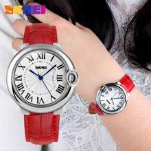 时刻美时尚女士防水皮带指针手表简约气质腕表个性女学生时装表9088