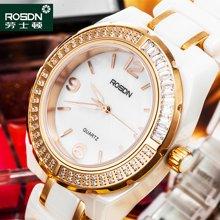 劳士顿女士陶瓷手表 潮流时装表简约防水石英水钻表手链女表1195