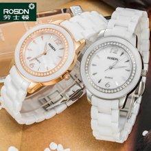 劳士顿女士陶瓷手表 潮流时装表简约防水石英水钻表手链女表1193