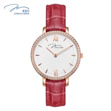 唯路时(JONAS&VERUS)手表 防水时尚皮带石英女表