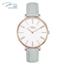 唯路时(JONAS&VERUS)手表薄款时尚方糖色石英女表X01855-Q3.PPWLH